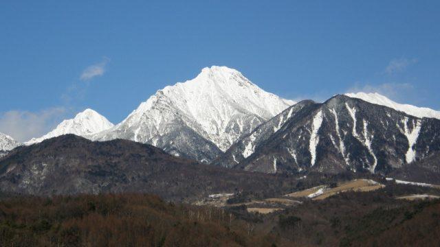 八ヶ岳2008年1月の様子・冬・雪山
