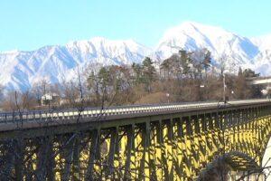 八ヶ岳-冬景色